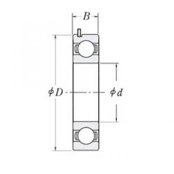25 mm x 55 mm x 15 mm  25 mm x 55 mm x 15 mm  KOYO 83350A-9C3 deep groove ball bearings