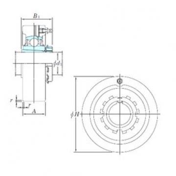 KOYO UKCX11 bearing units