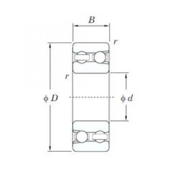 10 mm x 30 mm x 14 mm  10 mm x 30 mm x 14 mm  KOYO 4200 deep groove ball bearings