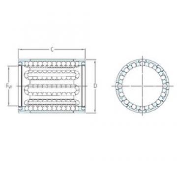 SKF LBBR 3/HV6 linear bearings