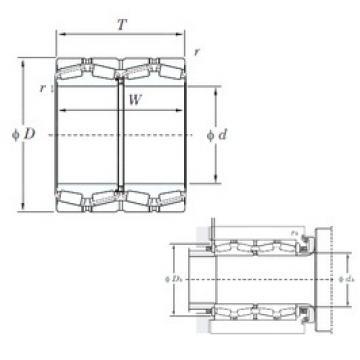 KOYO 37292 tapered roller bearings