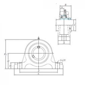 KOYO UCIP313 bearing units