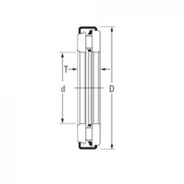 KOYO AXZ 5,5 8 16 needle roller bearings