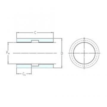 SKF LPBR 16 plain bearings