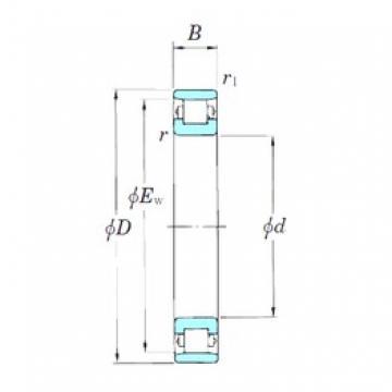 140 mm x 210 mm x 33 mm  140 mm x 210 mm x 33 mm  KOYO N1028 cylindrical roller bearings