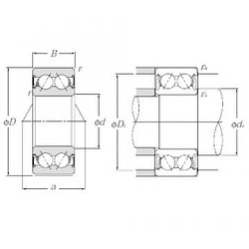 30 mm x 72 mm x 30,2 mm  30 mm x 72 mm x 30,2 mm  NTN 5306SCLLM angular contact ball bearings