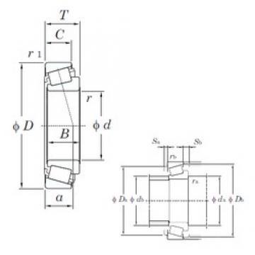 35 mm x 89 mm x 38 mm  35 mm x 89 mm x 38 mm  KOYO TR070904-1LFT tapered roller bearings