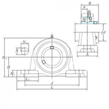 KOYO UCP208 bearing units