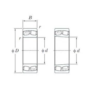 480 mm x 790 mm x 308 mm  480 mm x 790 mm x 308 mm  KOYO 24196RK30 spherical roller bearings
