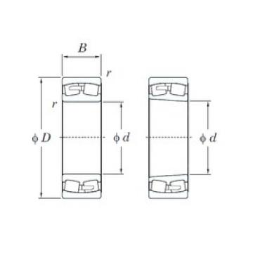 600 mm x 980 mm x 300 mm  600 mm x 980 mm x 300 mm  KOYO 231/600R spherical roller bearings
