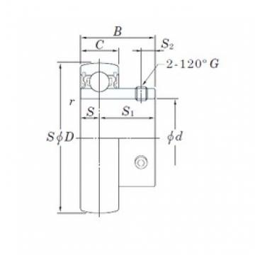 25 mm x 52 mm x 27 mm  25 mm x 52 mm x 27 mm  KOYO SB205 deep groove ball bearings