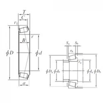 209,55 mm x 333,375 mm x 69,85 mm  209,55 mm x 333,375 mm x 69,85 mm  KOYO HM743345/HM743310 tapered roller bearings