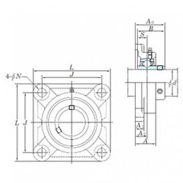 KOYO UCF319 bearing units