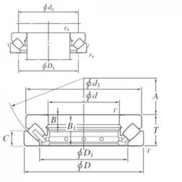 140 mm x 280 mm x 31 mm  140 mm x 280 mm x 31 mm  KOYO 29428R thrust roller bearings