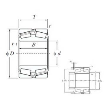 460 mm x 680 mm x 163 mm  460 mm x 680 mm x 163 mm  KOYO 45292 tapered roller bearings