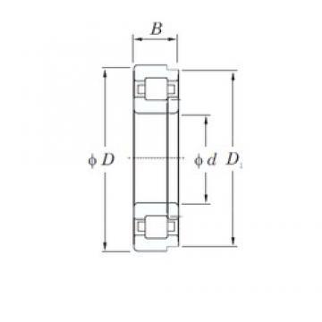 200 mm x 360 mm x 58 mm  200 mm x 360 mm x 58 mm  KOYO NUP240R cylindrical roller bearings