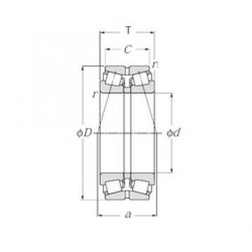 NTN 413138 tapered roller bearings