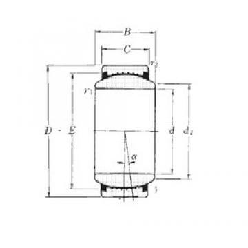 50 mm x 75 mm x 35 mm  50 mm x 75 mm x 35 mm  NTN SAR1-50SS plain bearings