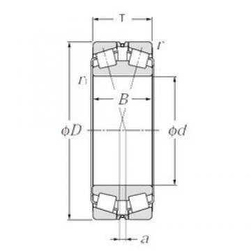 170 mm x 260 mm x 67 mm  170 mm x 260 mm x 67 mm  NTN 323034 tapered roller bearings