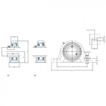 SKF SY 35 TF bearing units