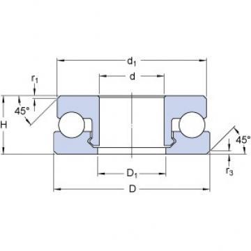 SKF 51104 V/HR11Q1 thrust ball bearings