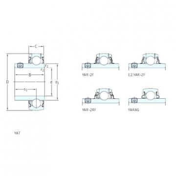 35 mm x 72 mm x 42,9 mm  35 mm x 72 mm x 42,9 mm  SKF YAR207-2RF/VE495 deep groove ball bearings